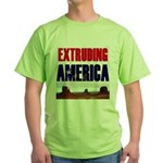 Extruding America Green T-Shirt