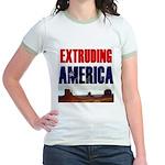 Extruding America Jr. Ringer T-Shirt