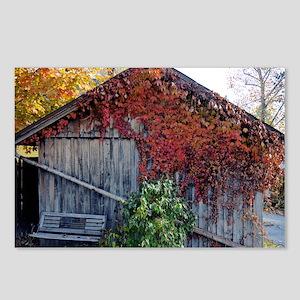old_barn_Lg_framed Postcards (Package of 8)