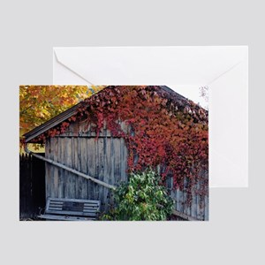old_barn_mpad Greeting Card