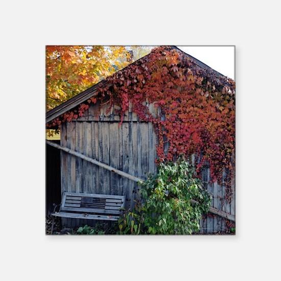 """old_barn_mpad Square Sticker 3"""" x 3"""""""
