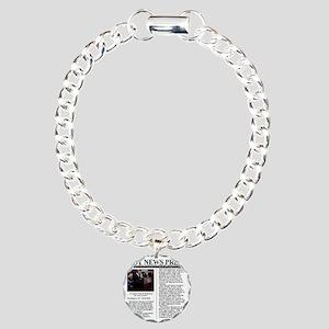 hotnews_press_yemen_mail Charm Bracelet, One Charm