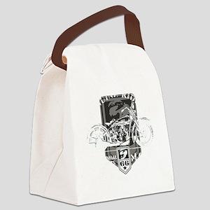 geniune rider(blk) Canvas Lunch Bag
