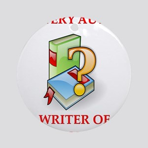 writer2 Ornament (Round)
