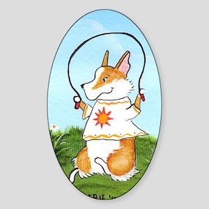little miss sunshine Sticker (Oval)