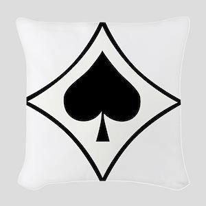 jg53 Woven Throw Pillow