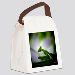 Preying mantis Canvas Lunch Bag