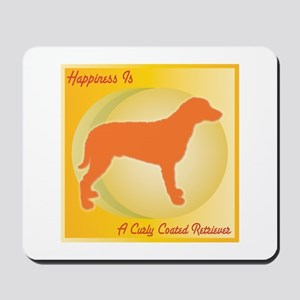 Curly Happiness Mousepad