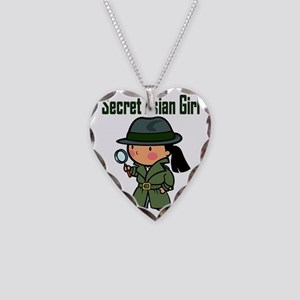 secretasiangirl Necklace Heart Charm