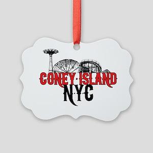 coney_island-nyc Picture Ornament
