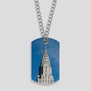 Chrysler Building spire Dog Tags