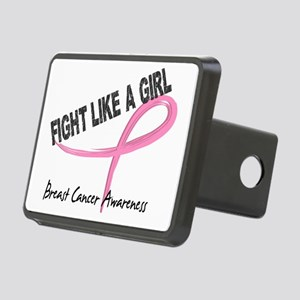 - Breast Cancer Fight Like Rectangular Hitch Cover