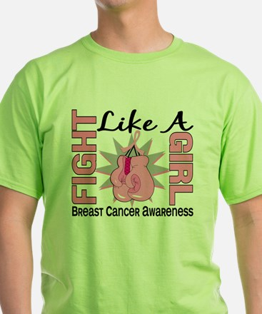 - Fight Like a Girl Breast Cancer T-Shirt