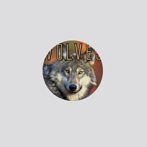 Wolves Wall Calendar Mini Button