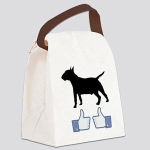 2-Miniature-Bull-Terrier07 Canvas Lunch Bag