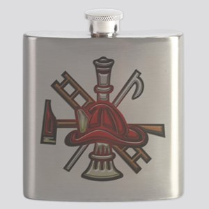 Fire Department Seal Flask