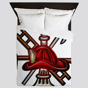 Fire Department Seal Queen Duvet