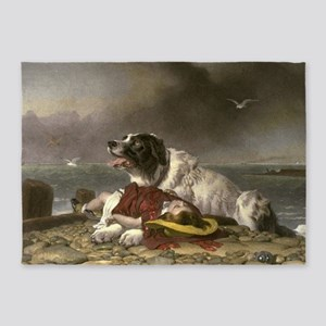 Landseer_Saved 5'x7'Area Rug