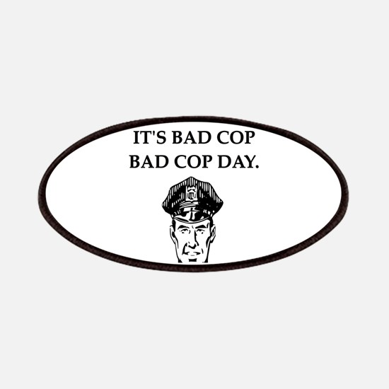 good cop bad cop poliice joke gifts apparel Patche