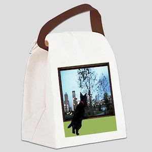 2-neighborhood watch2 Canvas Lunch Bag