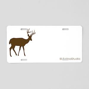 2-Metro Forest deer Aluminum License Plate