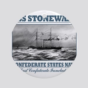 CSS Stonewall Round Ornament