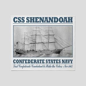 CSS Shenandoah Throw Blanket