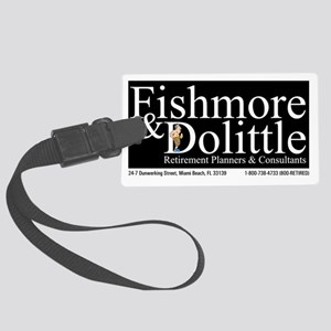 Fishmore  Dolittle T Shirt Large Luggage Tag