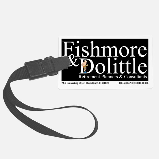 Fishmore  Dolittle T Shirt Luggage Tag
