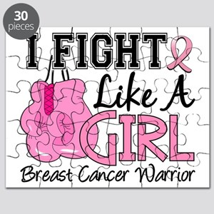 - Fight Like a Girl Breast Cancer Puzzle