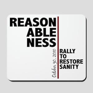 reasonableness Mousepad