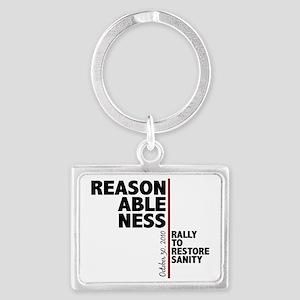 reasonableness Landscape Keychain