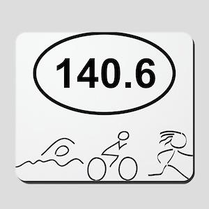 140 Oval w figures 1 Mousepad