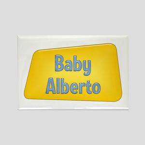 Baby Alberto Rectangle Magnet