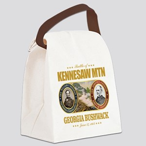 Kennesaw Mountain Canvas Lunch Bag
