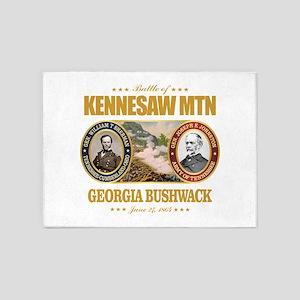 Kennesaw Mountain 5'x7'Area Rug