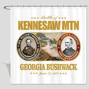 Kennesaw Mountain Shower Curtain