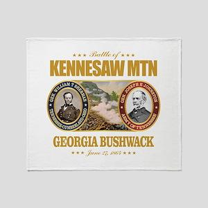 Kennesaw Mountain Throw Blanket
