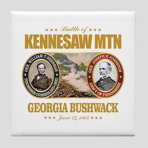Kennesaw Mountain Tile Coaster