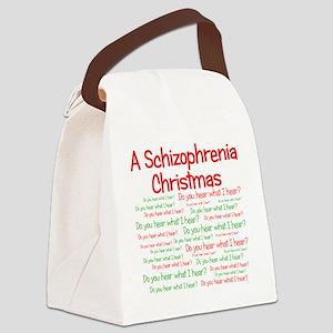 schizophrenia Canvas Lunch Bag