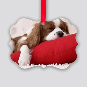 Spaniel mousepad Picture Ornament