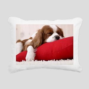 Spaniel mousepad Rectangular Canvas Pillow