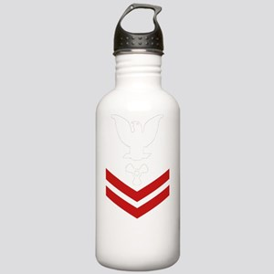 Navy-Rank-MM2-Blues-PN Stainless Water Bottle 1.0L