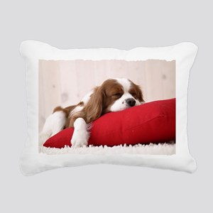 Spaniel puppy Rectangular Canvas Pillow