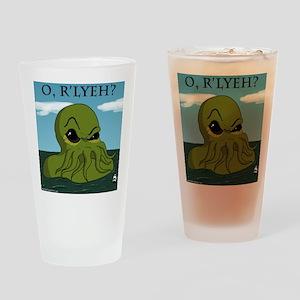 cthulu Drinking Glass
