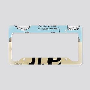 Pi_57 Stonehenge (10x10 Color License Plate Holder