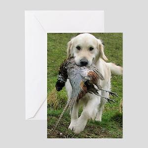 Lab Hunt post Greeting Card