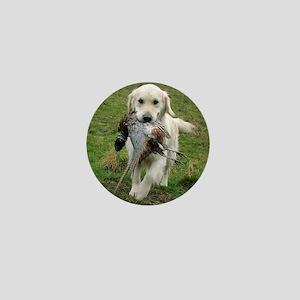Labrador Hunting Mini Button