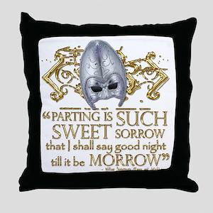romeoandjuliet1-blanket Throw Pillow