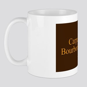 Carpe Bourbon Oval Mug